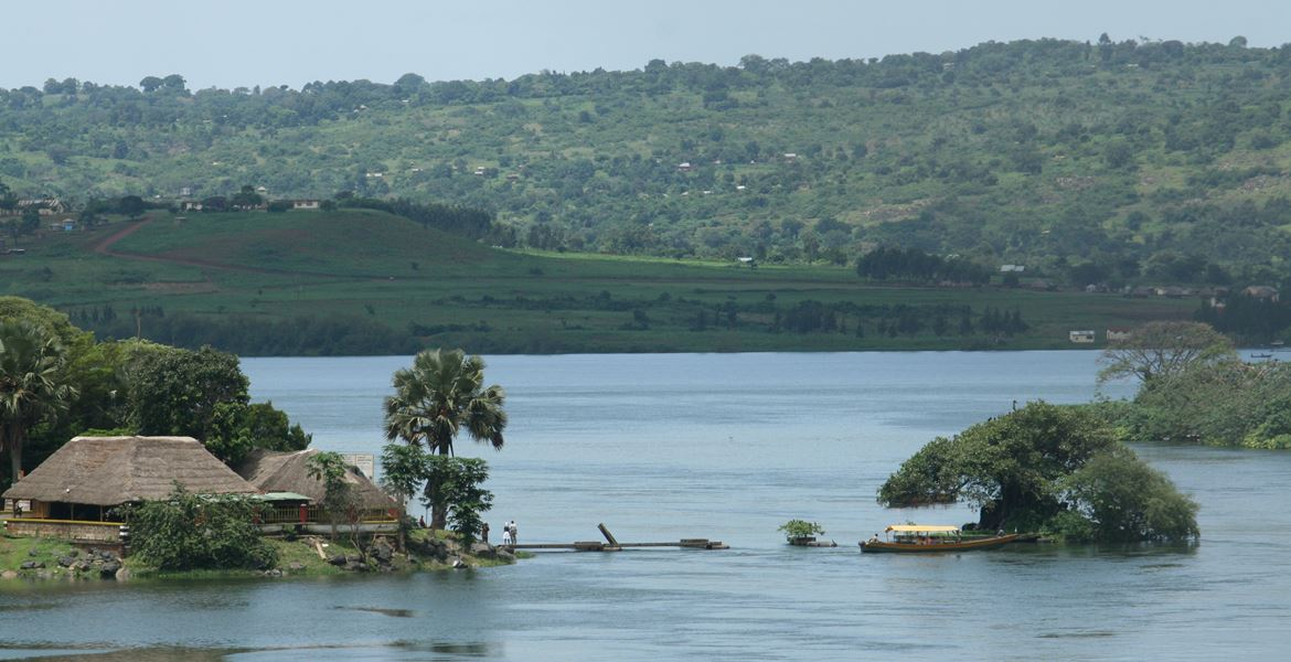 Source of the Nile Uganda the longest river in Africa